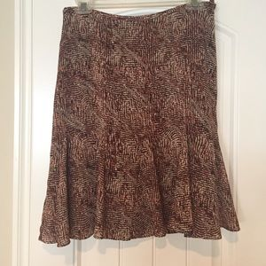 Liz Claiborne Skirts - 🎉DONATE SOON🎉 Fit and flare brown skirt.